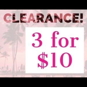 Jewelry - Any 💎 item 3/$10. Bundle & SAVE!